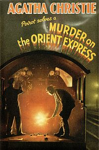 Agatha Christie's original cover.